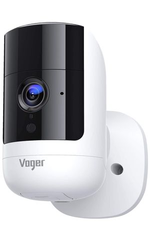 Voger Security Camera Outdoor, Rechargeable Indoor Camera 6700mAh Battery-Powered, 1080P Wireless Wifi Camera with Dual-PIR Motion Detection, 160°Wid for Sale in Carrollton, TX