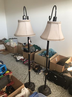 Floor lamps- set of 2 for Sale in Chandler, AZ