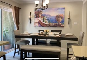 Dining table and chairs for Sale in Burbank, CA
