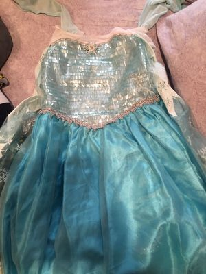 Elsa frozen costume dress for Sale in San Leandro, CA