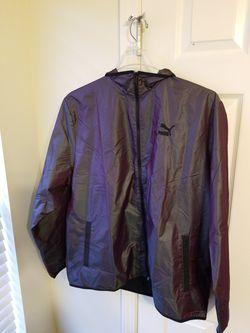 Puma Iridescent Pack Woven Jacket New Men's XL Plum Iridescent 597872 for Sale in Smyrna,  TN
