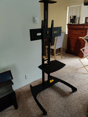 North Bayou sturdy TV stand with wheels! for Sale in Los Altos, CA