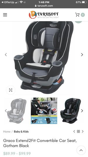 Garco extended car seat for Sale in Beaverton, OR