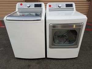 LG top load washer and electryc dryer for Sale in Tustin, CA