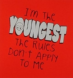 I'm the youngest rules don't apply to me shirt for Sale in Florence, MS