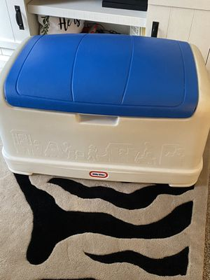 Large little tikes toy box for Sale in Savannah, GA