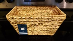 Dawson basket, 12x7x6in, new with tag for Sale in Houston, TX