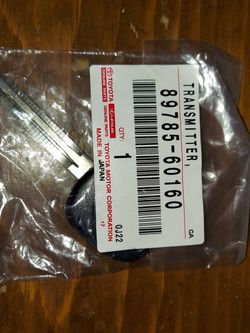 Transmitter KEY TOYOTA NEW UNCUT for Sale in Baldwin Park,  CA
