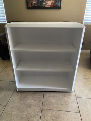 white Bookcase excellent condition for Sale in NM, US