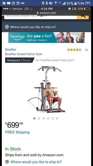 Bowflex home gym for Sale in Eagar, AZ