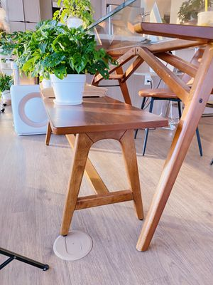 West Elm A-Frame Walnut Bench for Sale in Los Angeles, CA