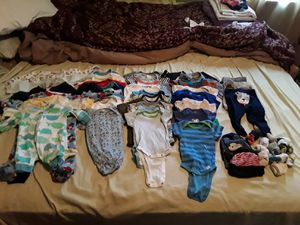 More baby boy clothes newborn,0-3 months, 3-6 months, and 6 months ! for Sale in Pittsburgh, PA