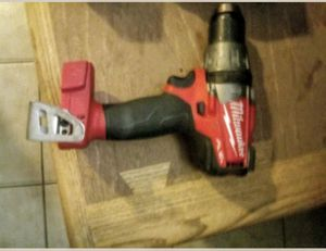 Millwake 18 volt brushless hammer drill with dual m12 & m20 charger and m18 battery for Sale in Fitchburg, MA