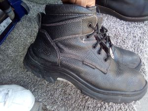 Skechers steel toe boots size 10 for Sale in South Gate, CA