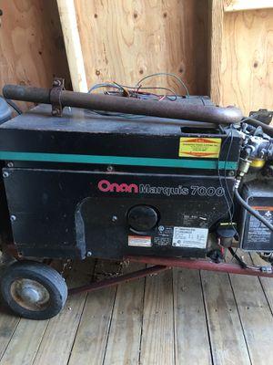 Rv generator onan marquis 7000 for Sale in Springfield, MA