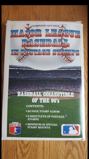 Major League Baseball in Postage Stamps Book for Sale in Columbia, MO