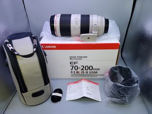 Canon ef 70-200mm 2.8L ii (READ) for Sale in Glendale Heights, IL