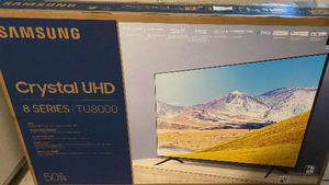 """Samsung 50"""" UHD crystal 8 Series for Sale in Milpitas, CA"""