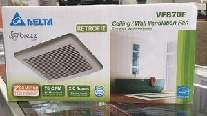 Ceiling Wall Ventilation Fan Extractor de techo pared Retrofit Delta for Sale in Miami, FL