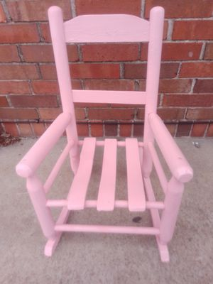 Antique child/doll wooded rocking chair for Sale in St. Louis, MO