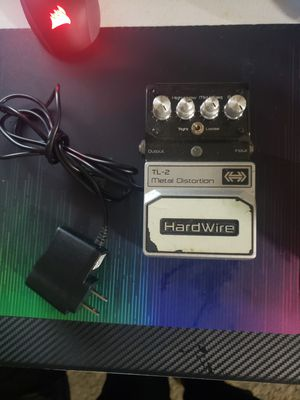 Hardwire distortion pedal for Sale in Salem, OR