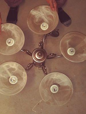 Silver chandelier for Sale in Marietta, GA