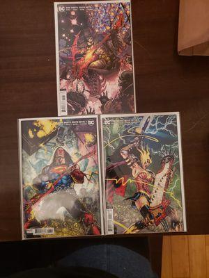 DC Dark Nights Death Metal Musical Variants for Sale in Woodbridge, VA