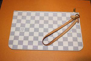 Louis Vuitton Damier Azur women's wristlet bag for Sale in Modesto, CA