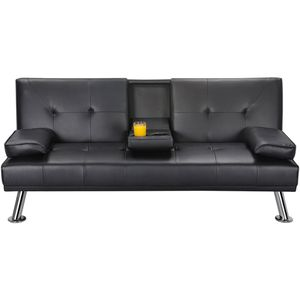 Modern leather futon for Sale in Charlotte, NC