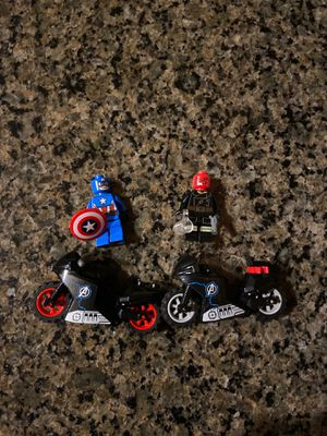 LEGO captain America & red skull for Sale in Wake Forest, NC