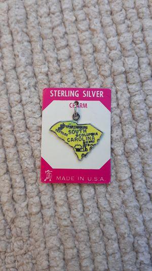Vtg South Carolina Sterling Silver Charm for Sale in Chandler, AZ