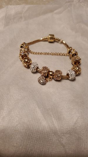 Beautiful gold & silver bracelet for Sale in Charlotte, NC
