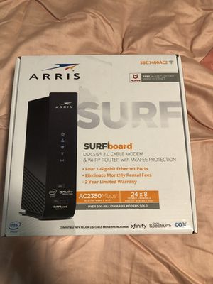 Arris Modem and Router for Sale in Midland, TX