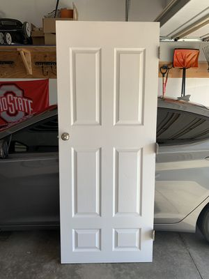 32 x 80, 6 Panel, White Door, Interior for Sale in Canton, OH