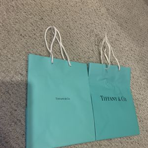 Tiffany And Co Shopping Bags (Medium Size) for Sale in March Air Reserve Base, CA