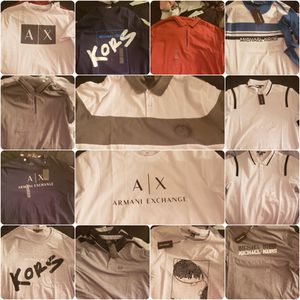 Michael Kors & Armani Exchange men shirts for Sale in Phoenix, AZ