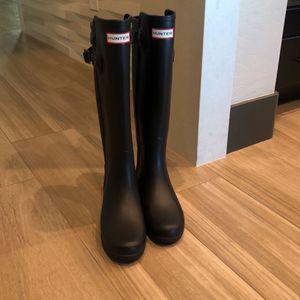 Brand new Hunter black rain boots for Sale in Sloan, NV