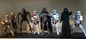 Kotobukiya Star Wars Rogue One and The Force Awakens 1:10 scale statue collection for Sale in San Diego, CA