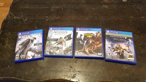 PS4 Games for Sale in Denver, CO
