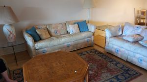 Couch Bed and Love Seat for Sale in Greenacres, FL