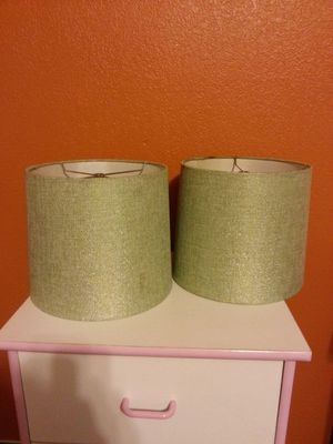 Set of lamp shades! for Sale in Lodi, CA