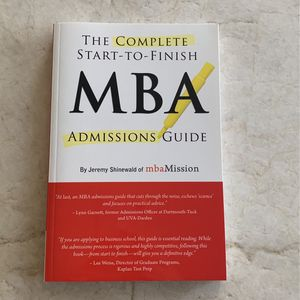 MBA Admissions Guide for Sale in Concord, CA