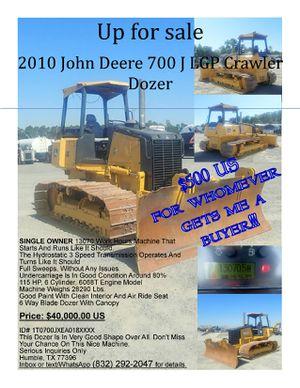 2010 John Deere Crawler Tractor/Dozer for Sale in Houston, TX