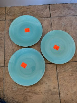 Color wheel 3 plate set for Sale in Smithville, MS
