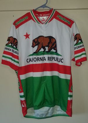 California Republic Bike Jersey in like new condition for Sale in Alhambra, CA