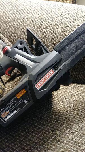 """Craftsman 10"""" 19.2 volt die hard chainsaw for Sale in Wichita, KS"""