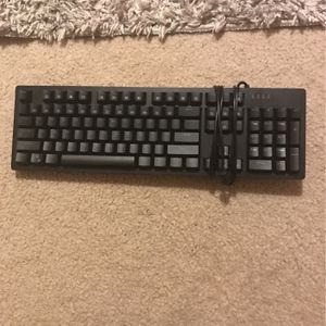 All Blue Gaming Keyboard Blue Switches for Sale in Pearland, TX