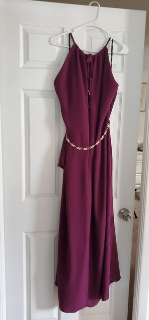 City Chic Womens Faux-Wrap Halter Dress size 20 Tulip-Hem for Sale in Atco, NJ