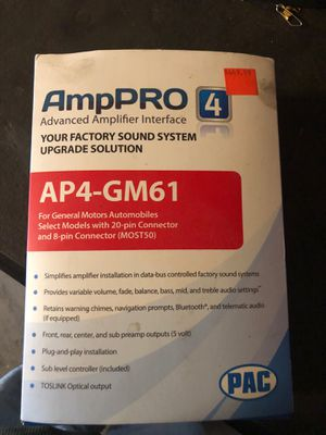 Ap4-gm61 for Sale in Livingston, CA
