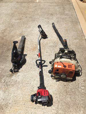 Troybuilt edger, Stihl BR320 Blower, electric blower for Sale in CONCORD FARR, TN